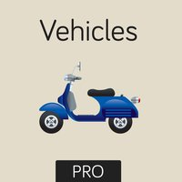 Vehicles Flashcard for babies and preschool Pro