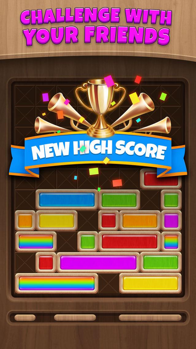 Slide Block Woody Puzzle App for iPhone - Free Download Slide Block