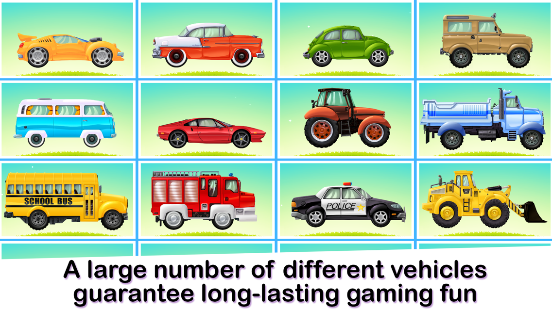 My Little Car Wash The Funny Cars Washing Game For Kids App For