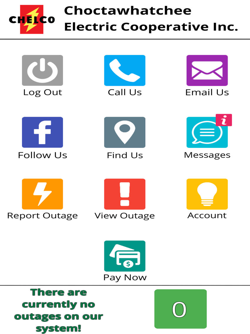 CHELCO Connect App for iPhone - Free Download CHELCO Connect for ...