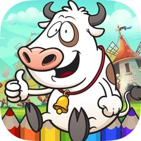 Farm Coloring Book - Animals Painting Game for Kid