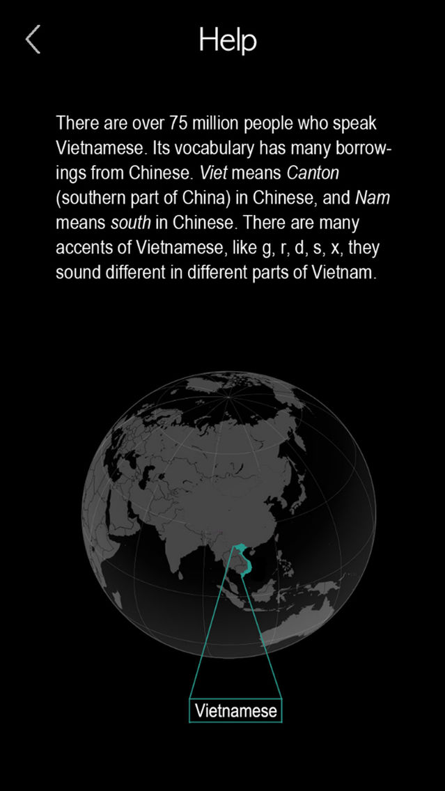 Vietnamese Alphabet & Words App for iPhone - Free Download