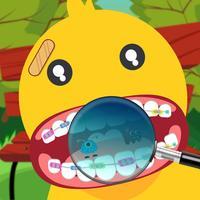 Dentist Duck Toons Go Doctor
