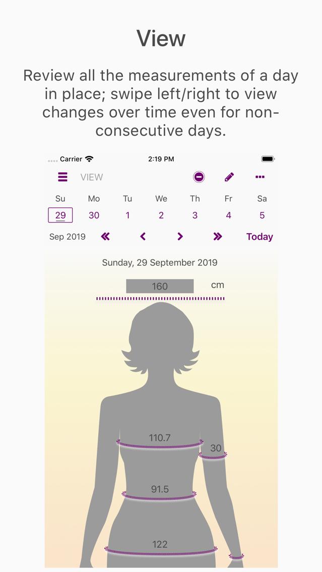 Remeasure: Progress Tracker App for iPhone - Free Download