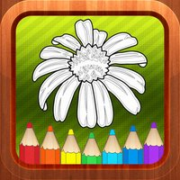 Flower Kids Coloring Books Page Games for Toddlers