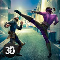 Ninja Kung Fu Street Fighting Challenge 3D Full