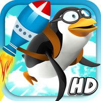Impossible Rocket Penguin Snow Jumping Free - Flappy Bird Edition