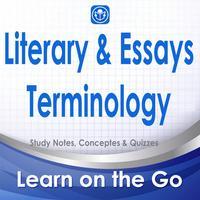 Literary terminology & Essays