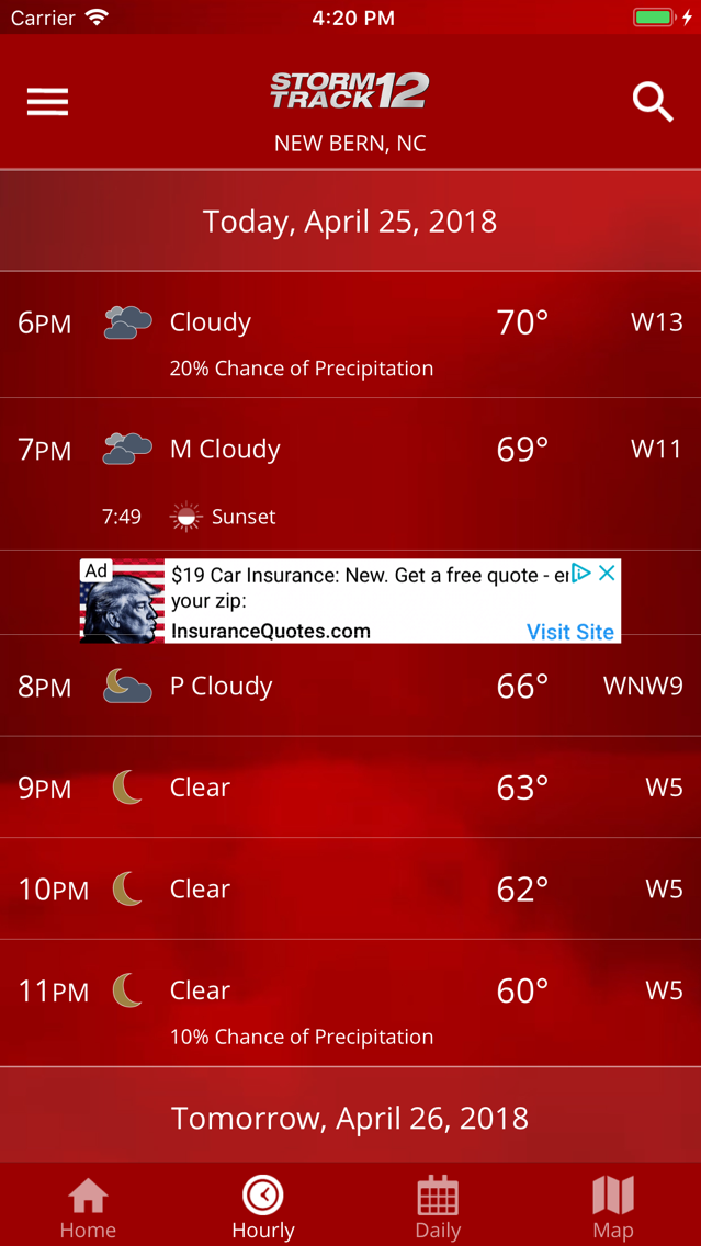 WCTI Storm Track 12 App for iPhone - Free Download WCTI Storm Track