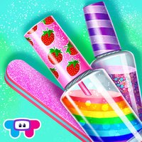 Candy Nail Art - Sweet Spa Fashion Game