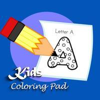Kids Coloring Pad ABC