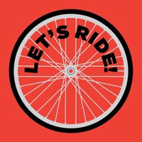 Let's Ride! Cyclist Stickers