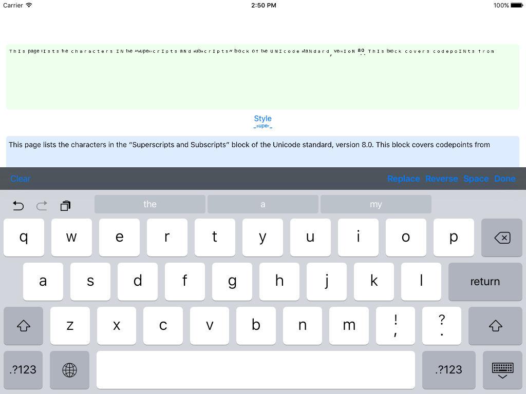 Ʋиιтeϰт - Weird Text Generator App for iPhone - Free Download