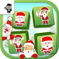 Match Santa Cards Game