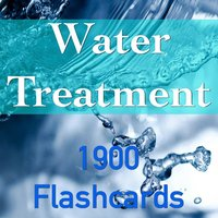 Water Treatment 1900 Flashcard