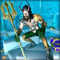 Superhero Aqua Man
