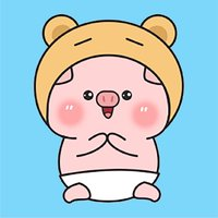 Pinky Pig Animated Stickers 2
