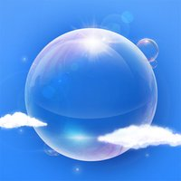 FunPop - Burst Floating Soap Bubbles: Satisfying Popping & Elusive Suds
