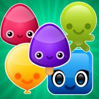 Gummy Match Story : drop and jam 3 pet