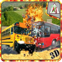 School Bus Demolition Crash Championship - Derby Racing Simulator