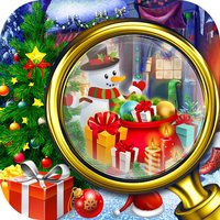 Christmas Room Hidden Object - Solve Puzzle