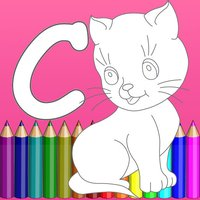 A-Z English Easy Coloring Book
