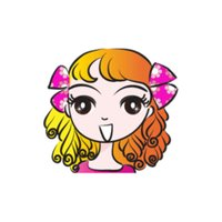 Ella Sweet Sweet stickers by wenpei