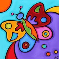 Pop Art Coloring By Sonya Paz