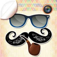 Hipster Stickers for Pictures