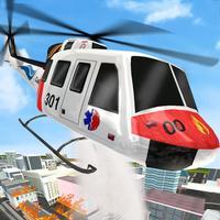 City Emergency Helicopter Simulator 2017