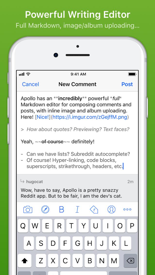 Apollo for Reddit App for iPhone - Free Download Apollo for