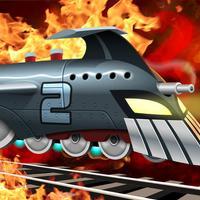 Battle Train 2 Rocket Railroad: Fighting & Blowing Up the Robot World — FREE War Games