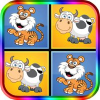Animal Match Game For Kids