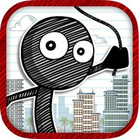 Rope And Swing Parkour Stick-man - Super Fun Run And Jump Kid Game FREE