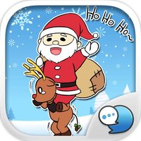 Merry Christmas Cartoon Stickers for iMessage Free