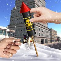 VR Bang Fireworks 3D Christmas