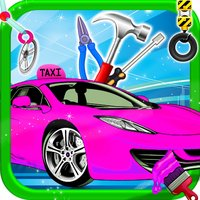 Girl Pink Taxi Repair