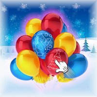 Christmas Pop The Balloon