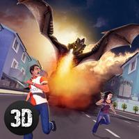 Monster Dragon City Rampage 3D - 2