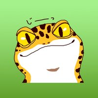 Collection Of Reptiles LEOPARDGECKO Sticker