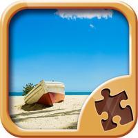 Beach Jigsaw Puzzles - Fun Brain Games