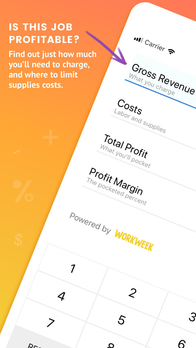 Profit Margin Calculator App for iPhone - Free Download