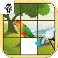 Bird Slide Puzzle Game