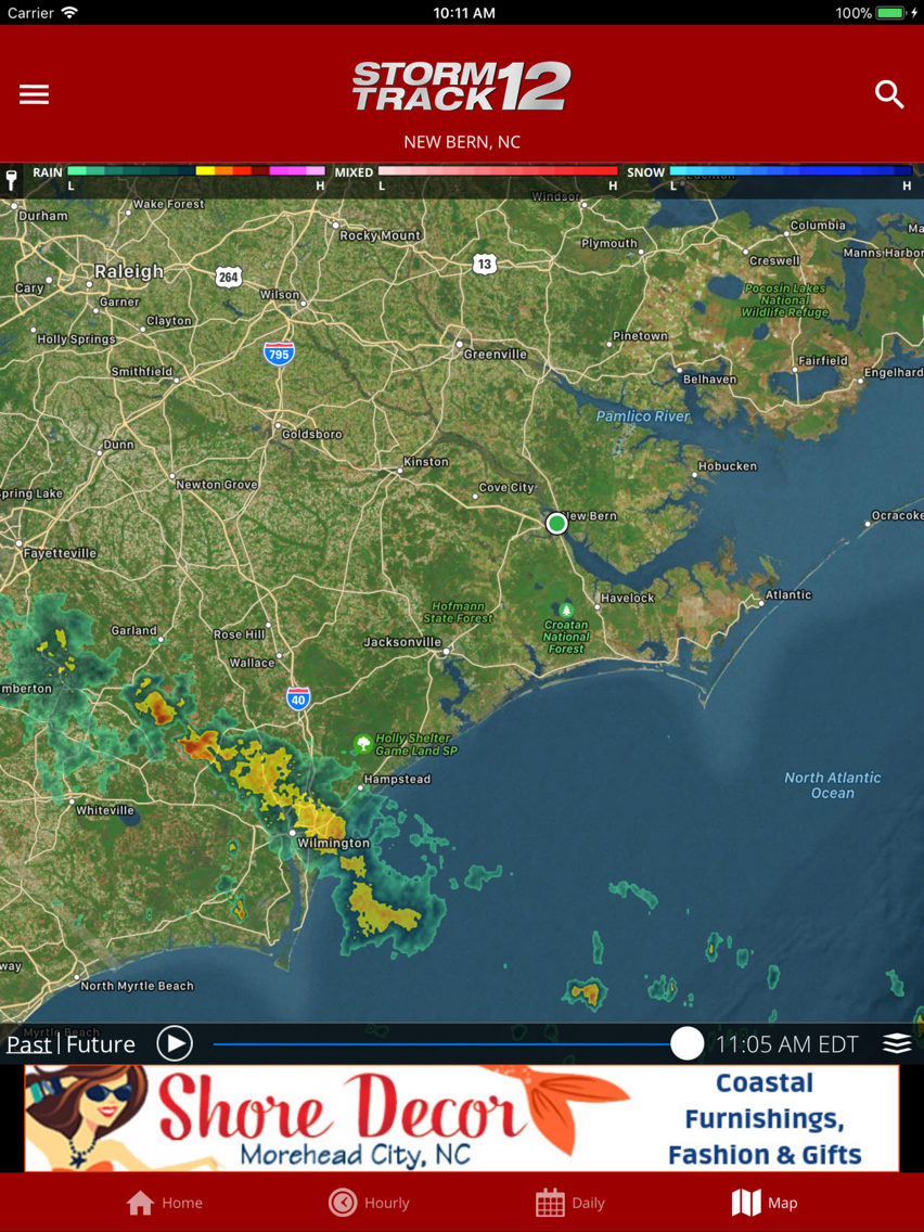 WCTI Storm Track 12 App for iPhone - Free Download WCTI