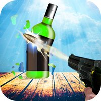 Real Bottle Gun Shoot