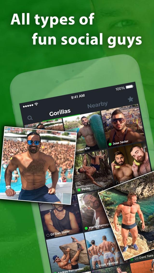 Fit Gorillas Gay Social Hub