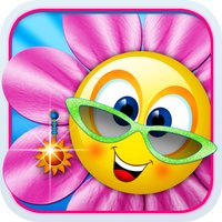 Singing Daisies - a dress up and make up games for kids