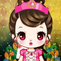 Princess Party Royal Girls Dress Up Prom