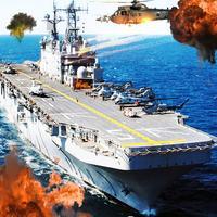 Russian Battleship Naval Fleet War Gunship Attack