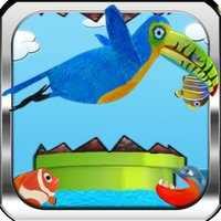 Happy Toucan Infinite Runner Pro Hunter – Real Fishing and Flying Flappy Adventure of a Tiny Bird, Clumsy Bird Through the Pipes For Kids